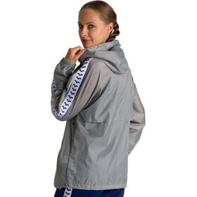 arena Skipper Team Veste Coupe-vent, silver/white/navy